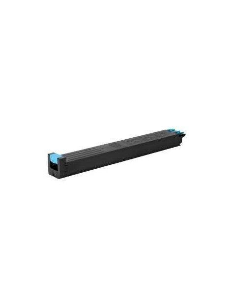 Cartouche toner MX60 compatible pour Sharp Coloris - Cyan
