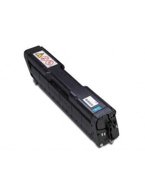 Cartouche toner Aficio SP-C221N compatible pour Ricoh Coloris - Cyan