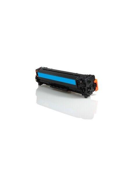 Cartouche toner CC530A/CE410X/CF380X générique pour HP Coloris - Cyan
