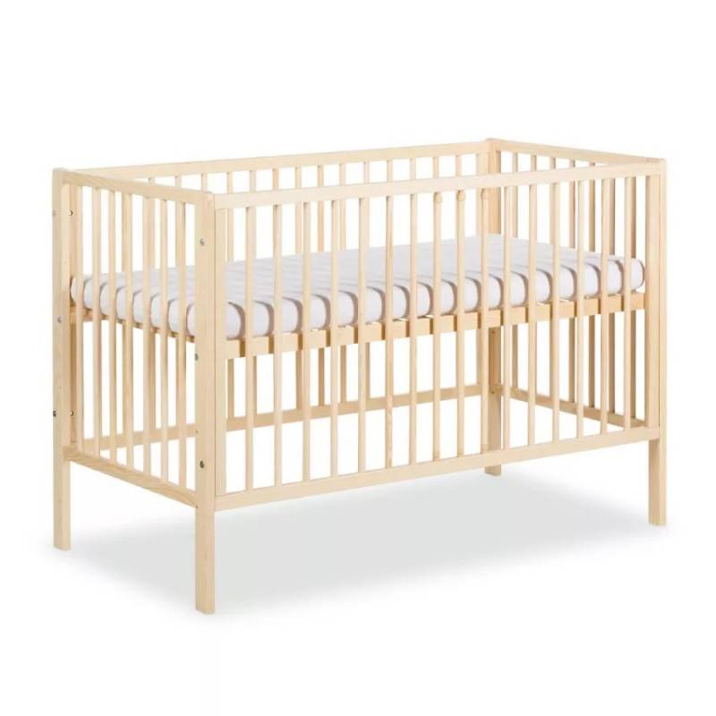 Lit bébé 120x60 FRANK - Pin
