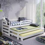 Lano Lit gigogne Rico - Blanc - 70 cm x 160 cm Couleur et dimension personnalisable.... par LeGuide.com Publicité