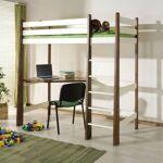 Meblobed Lit mezzanine Milo personnalisable - Noyer - 80 cm x 180 cm... par LeGuide.com Publicité