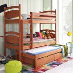 Lit superposé César avec lit gigogne - Aulne - 70 cm x 160 cm,80 cm x... par LeGuide.com Publicité