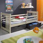 Meblobed Lit junior enfant Otylia personnalisable - Crème - 70 cm x 160... par LeGuide.com Publicité