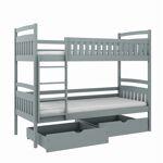 Lano Lit superposé PIT pour enfant - Hêtre - 80 cm x 180 cm Fabriqué... par LeGuide.com Publicité
