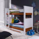 Meblobed Lit superposé Casimir pour enfant - 80 cm x 180 cm Ce lit superposé... par LeGuide.com Publicité