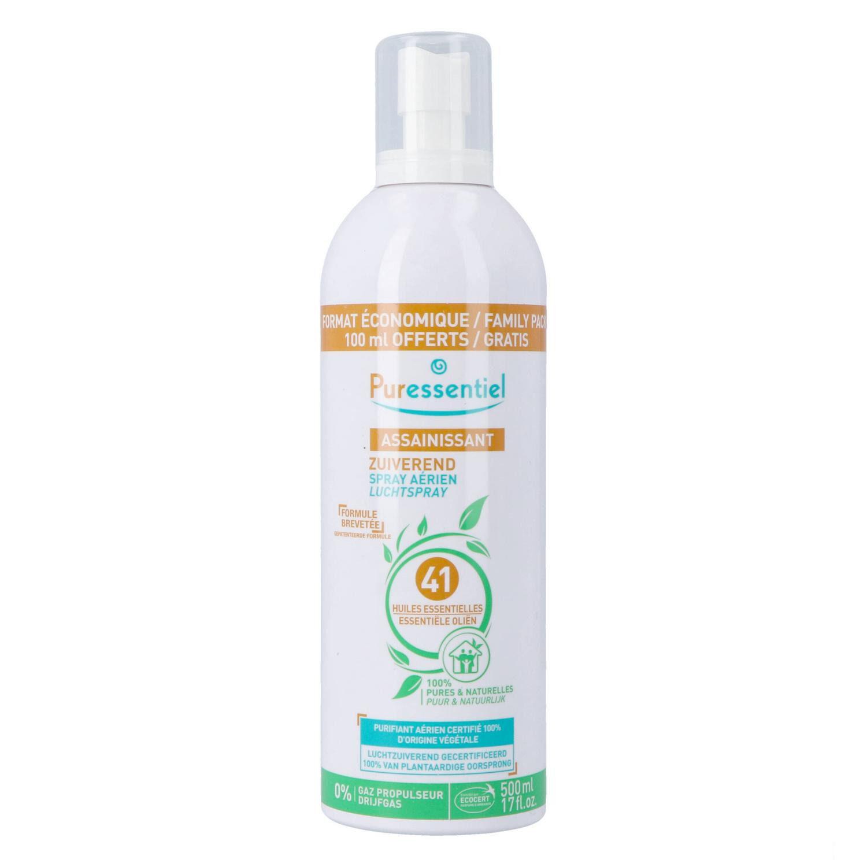 Puressentiel Spray Assainissant aux 41 Huiles Essentielles 500 ml