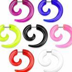 Piercing Street   Faux piercing écarteur spirale   Faux écarteur pour... par LeGuide.com Publicité
