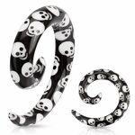 Piercing Street   Piercing écarteur spirale tête de mort   Piercing... par LeGuide.com Publicité