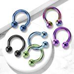 Piercing Street   Piercing fer à cheval Titane Boules   Piercing circulaire... par LeGuide.com Publicité