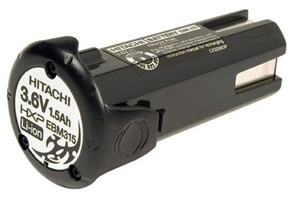 Hitachi Batterie d'outillage d'origine 3,6V 1,5Ah Li-Ion HITACHI EBM315
