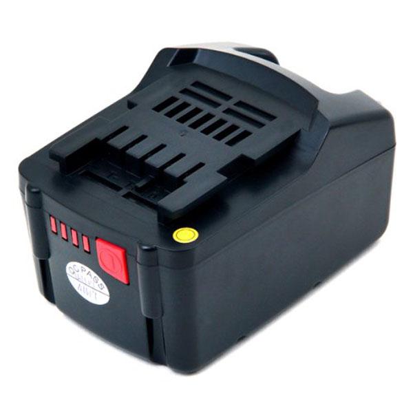 pb Batterie d'outillage 18V 4,0Ah Li-Ion METABO 6.25527 / 6.25591