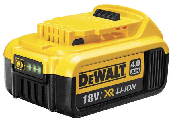 Dewalt Batterie d'outillage d'origine 18V 4,0Ah Li-Ion DEWALT DCB182 (XR)