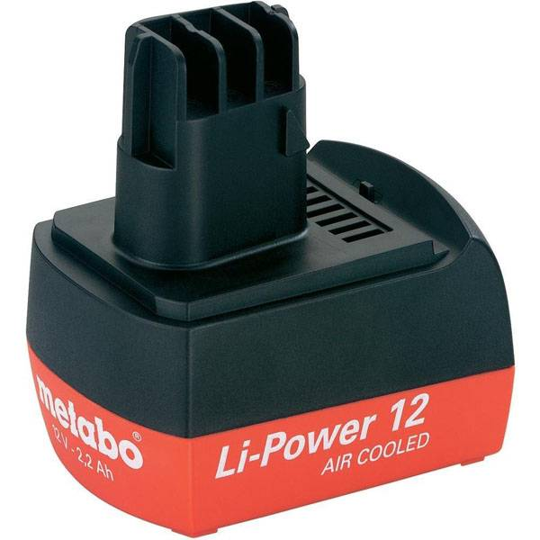 pb Batterie d'outillage 12V 3,0Ah Li-Ion METABO 6.25486