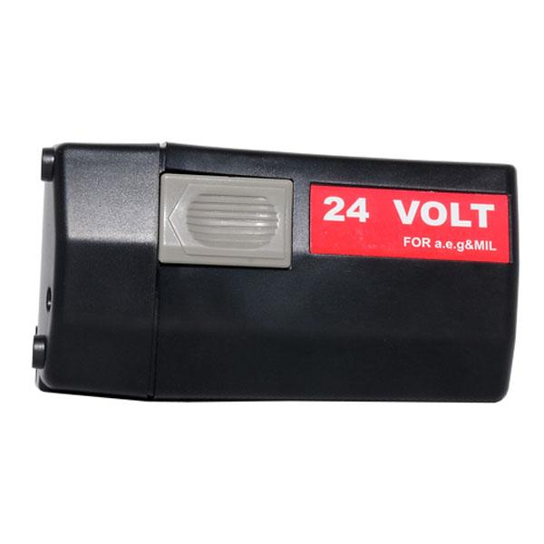 pb Batterie d'outillage 24V 3,0Ah Ni-Cd / Ni-Mh AEG BXL24 / 4932 373 560