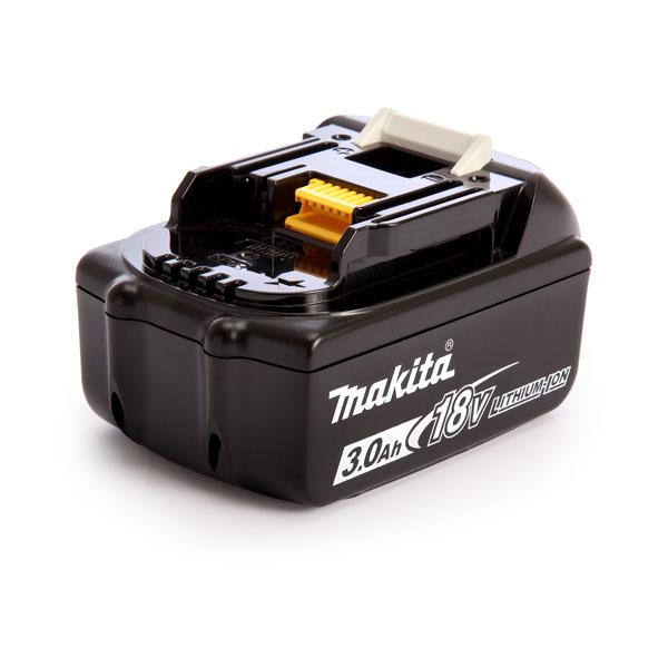 pb Batterie d'outillage 18V 3,0Ah Li-Ion MAKITA BL1830