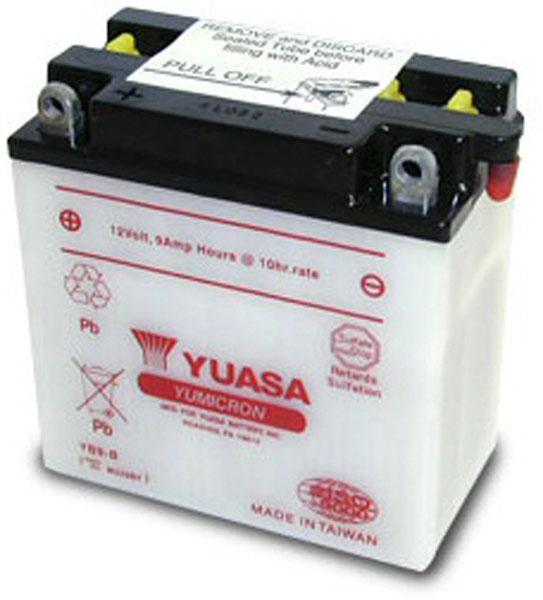 Yuasa Batterie moto Yuasa YB9-B 12V / 9Ah