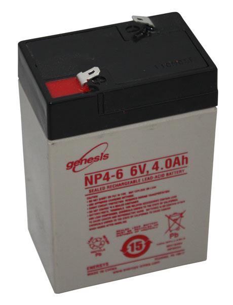 Enersys BATTERIE PLOMB ETANCHE ENERSYS NP4-6 - 6V 4Ah