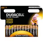 duracell  Duracell 12 piles LR03 AAA Duracell Plus Power sous blister Pack... par LeGuide.com Publicité