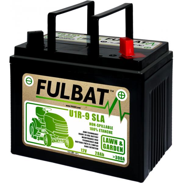 Fulbat Batterie tondeuse U1-R9 étanche AGM 12V / 28Ah