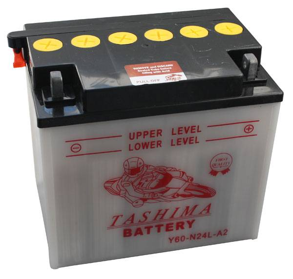 Tashima Batterie tondeuse Y60-N24-LA2 12V / 28Ah