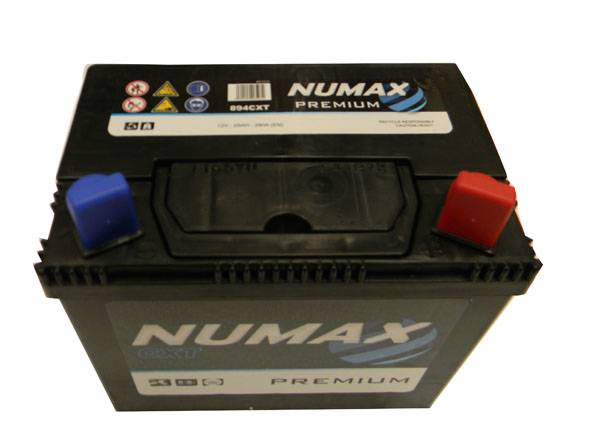 Numax Batterie de démarrage Numax Motoculture U1R9 894CXT 12V 25Ah / 280A