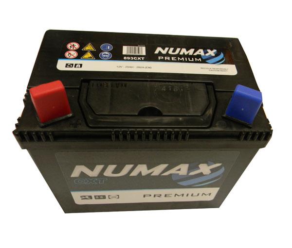 Numax Batterie de démarrage Numax Motoculture U19 893CXT 12V 25Ah / 280A