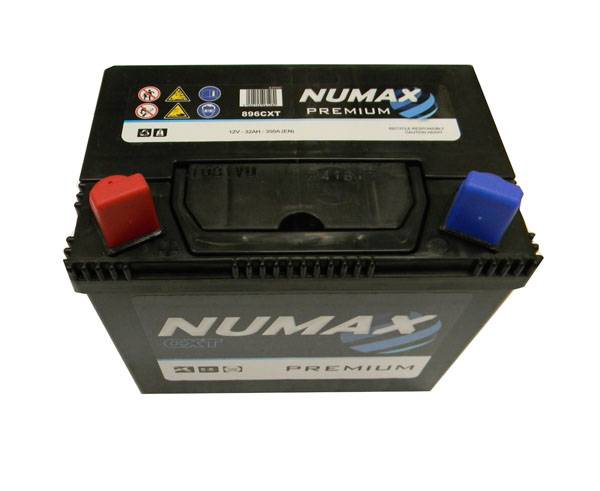 Numax Batterie de démarrage Numax Motoculture U19 896CXT 12V 32Ah / 350A