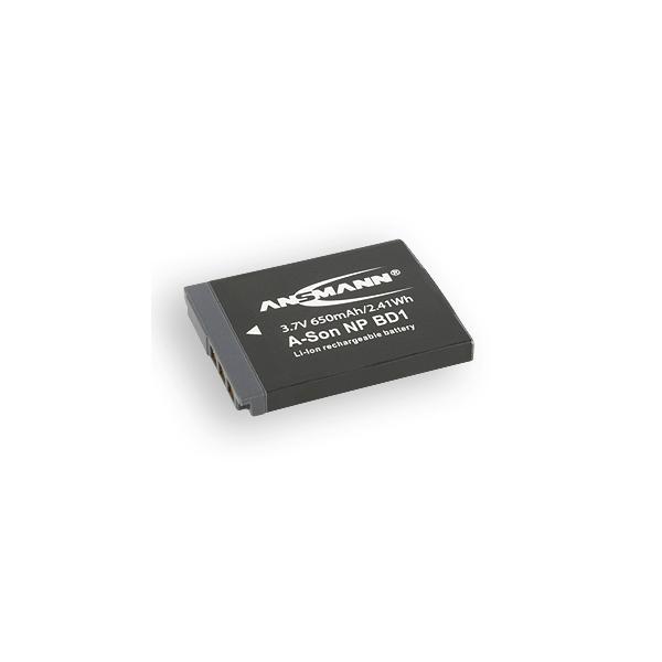 Ansmann Batterie de camescope type Sony NP-BD1 / NP-FD1 Li-ion 3.7V 800mAh