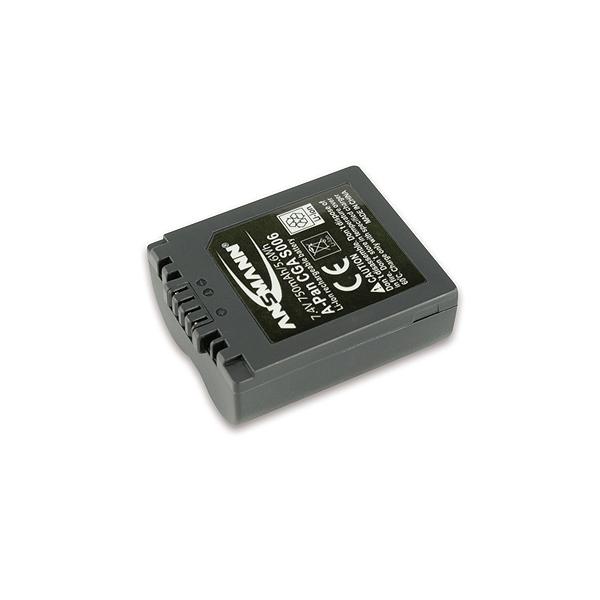 Ansmann Batterie photo numerique type Panasonic CGA-S006 Li-ion 7.4V 800mAh