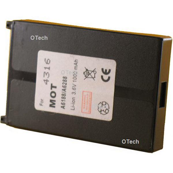 Otech Batterie de téléphone portable pour MOTOROLA T205 / T2688 Slim Li-ion 700 / 1100mAh