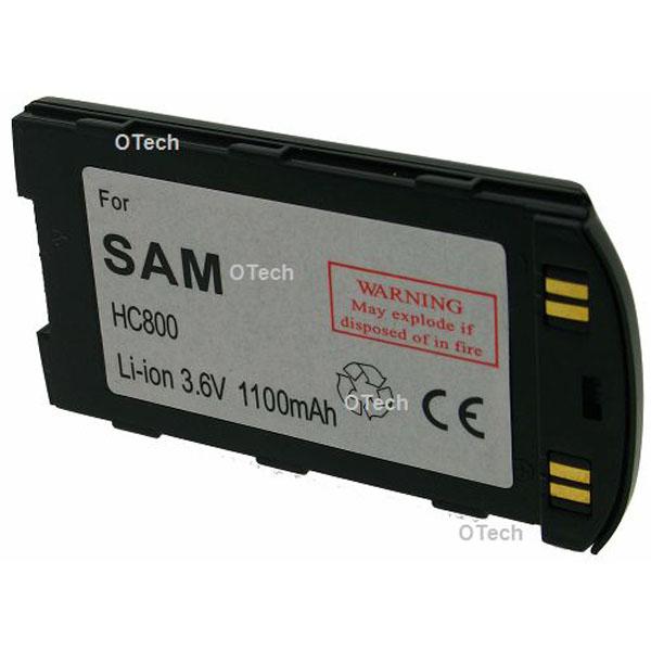 Otech Batterie de téléphone portable pour SAMSUNG SGH800 slim Li-ion 1100mAh