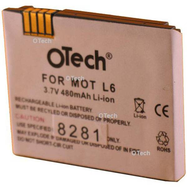 Otech Batterie de téléphone portable pour MOTOROLA K1 / K6 Li-Ion 600 / 700mAh 3.7V Li-Ion 700mAh
