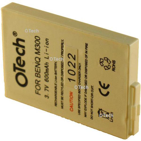 Otech Batterie de téléphone portable pour BENQ M300 3.6V Li-Ion 600mAh