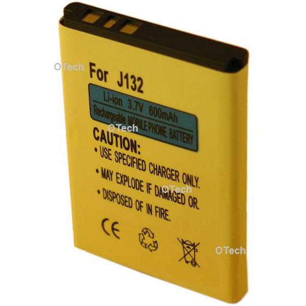 Otech Batterie de téléphone portable pour SONY J132 3.7V Li-Ion 600mAh