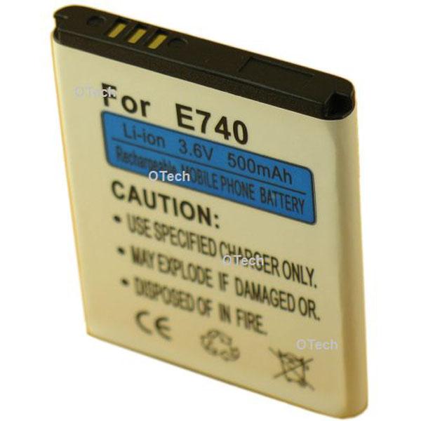 Otech Batterie de téléphone portable pour SAMSUNG J600 / E740 3.6V Li-Ion 600 / 700mAh
