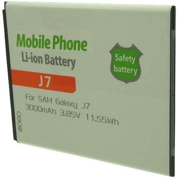 Otech Batterie de téléphone portable pour SAMSUNG J7 3.8V Li-Ion 3000mAh