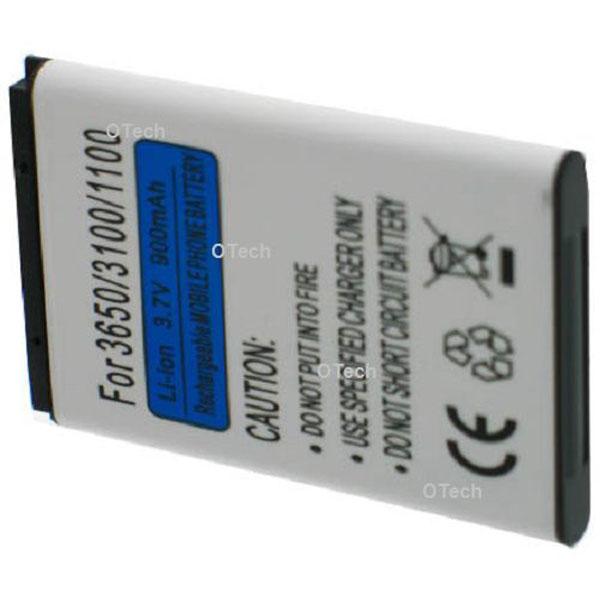 Otech Batterie de téléphone portable pour NOKIA 3660 Li-ion 700 / 800mAh