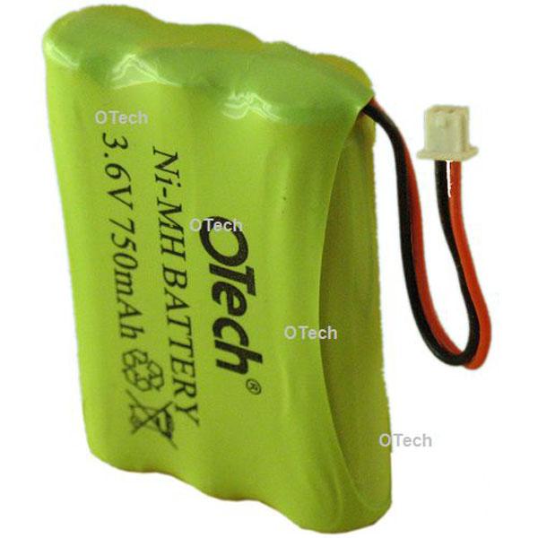 Otech Batterie de téléphone AAA 3.6V 750mAh
