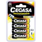 cegasa  Cegasa 4 piles rechargeables accu AA LR6 1.2V 2100mAh TYPE: Pile... par LeGuide.com Publicité