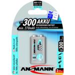ansmann  Ansmann Pile rechargeable accu 6LR61 PP3 9V 300mAH TYPE: Pile... par LeGuide.com Publicité