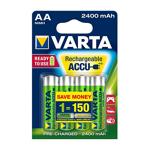 varta  Varta 4 piles rechargeables accu VARTA AA LR6 1.2V 2400mAh TYPE:... par LeGuide.com Publicité