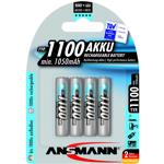 ansmann  Ansmann 4 piles rechargeables accu ANSMANN AAA LR03 1.2V 1100mAH... par LeGuide.com Publicité