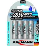 ansmann  Ansmann 4 piles rechargeables accu ANSMANN AA LR6 1.2V 2850mAH... par LeGuide.com Publicité