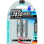 ansmann  Ansmann 2 piles rechargeables accu ANSMANN AA LR6 1.2V 2850mAH... par LeGuide.com Publicité