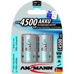 ansmann  Ansmann 2 piles rechargeables Ansmann C LR14 1.2V 4500mAh TYPE:... par LeGuide.com Publicité