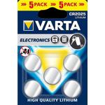 varta  Varta 5 piles lithium bouton Varta CR2025 Blister de 5 piles lithium... par LeGuide.com Publicité