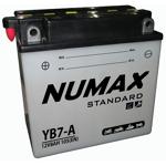 Numax Batterie moto Numax Standard avec pack acide YB7-A 12V 7Ah 105A... par LeGuide.com Publicité