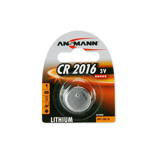 Ansmann Pile bouton lithium Ansmann CR2016