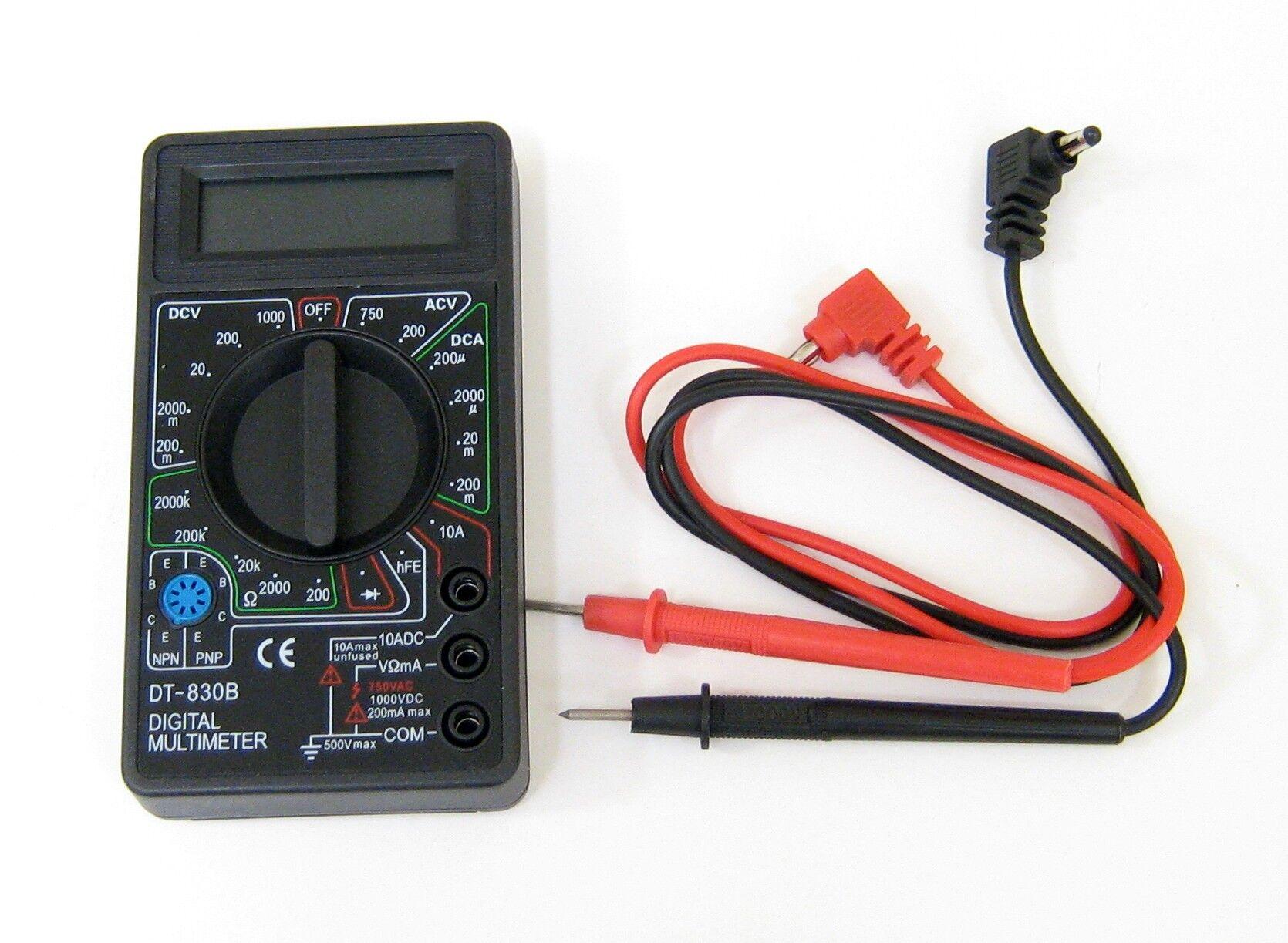 Générique Multimètre digital de poche - DT-830B